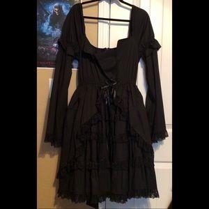 Goth Lolita Cosplay Dress